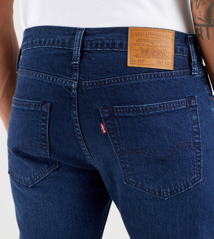 Levis Levis Jeans 512 Slim Taper Fit blue sage night adv
