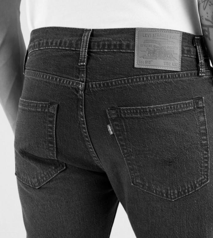 Levis Levis Jeans 512 Slim Taper Fit grey richmond power