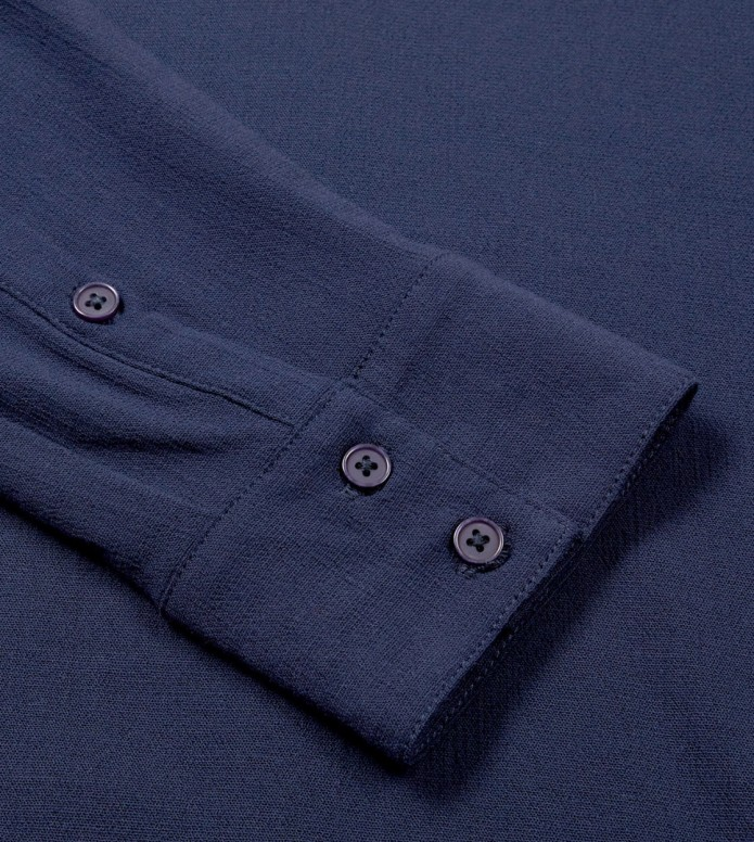 Wemoto Wemoto W Shirt Gill blue navy