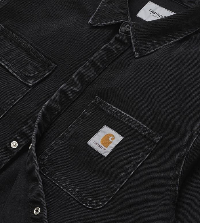Carhartt WIP Carhartt WIP Shirt Jac black stone washed