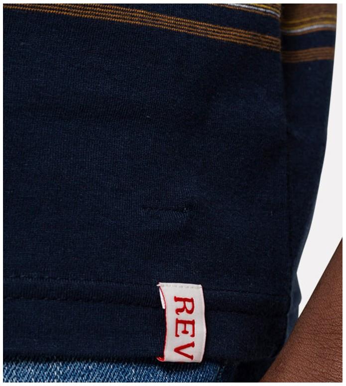 Revolution (RVLT) Revolution T-Shirt 1195 blue navy