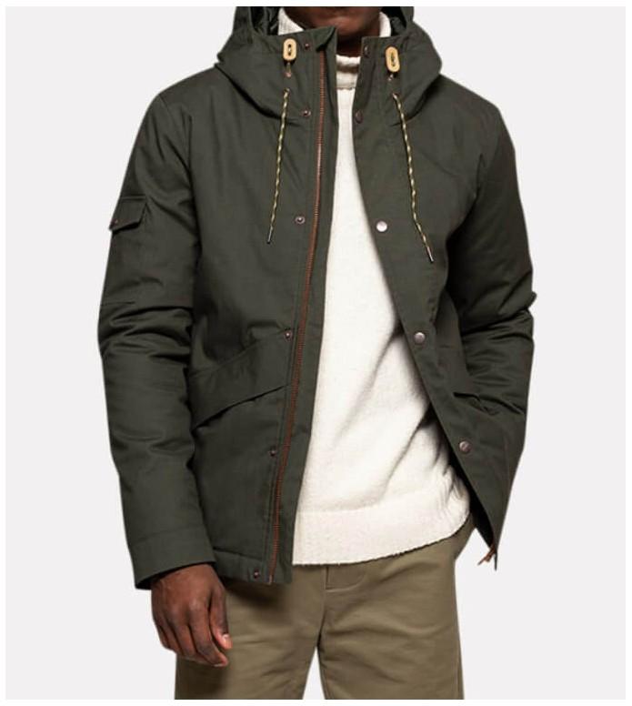 Revolution (RVLT) Revolution Winterjacket 7688 green army