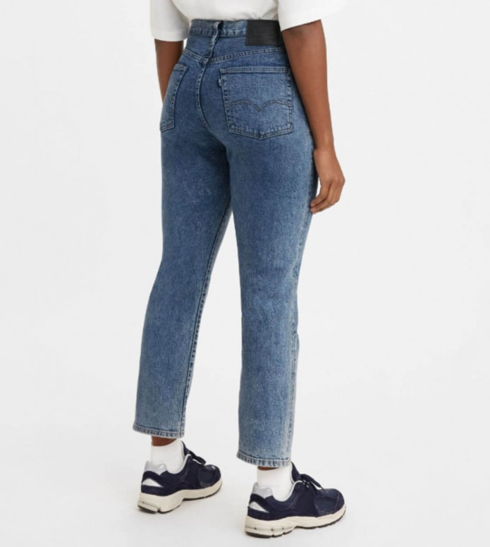 Levis Levis W Jeans 501 Crop blue lmc cliffside