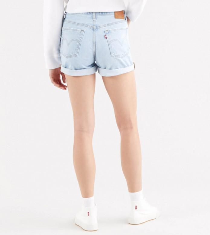Levis Levis W Shorts 501 Rolled blue luxor erosion