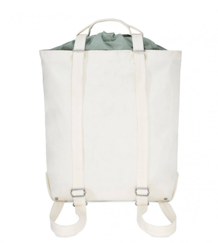 Qwstion Qwstion Bag Tote MD natural white heron