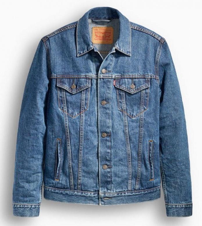Levis Levis Denimjacket The Trucker blue med stone wash
