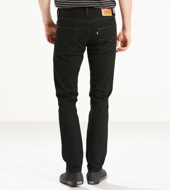 Levis Levis Jeans 501 Skinny black punk