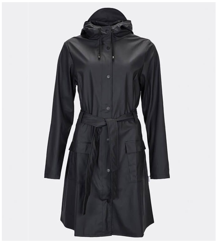 Rains Rains Rainjacket Curve black