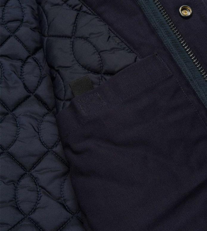 Carhartt WIP Carhartt WIP Winterjacket Clash Parka blue navy