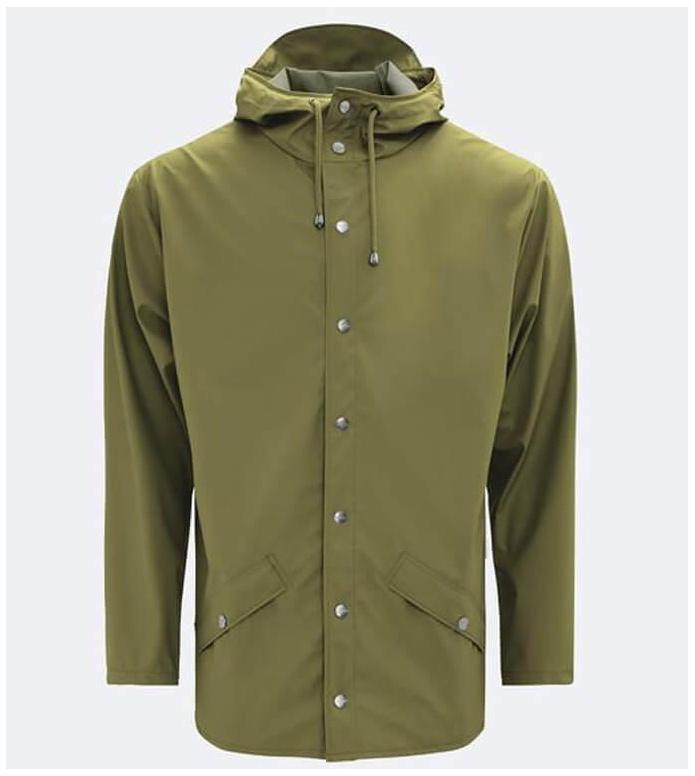 Rains Rains Rainjacket Short green sage