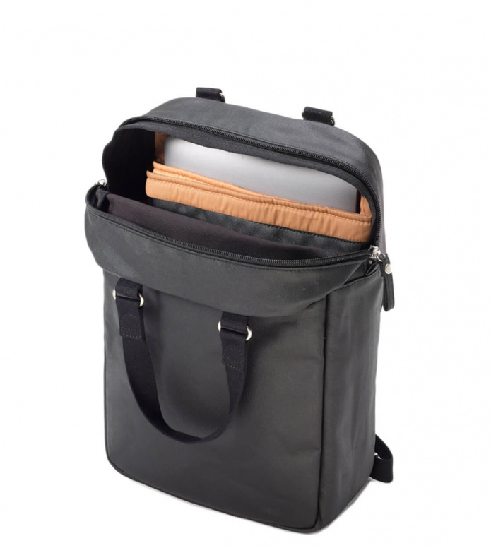 Qwstion Qwstion Backpack Small Pack organic jet black