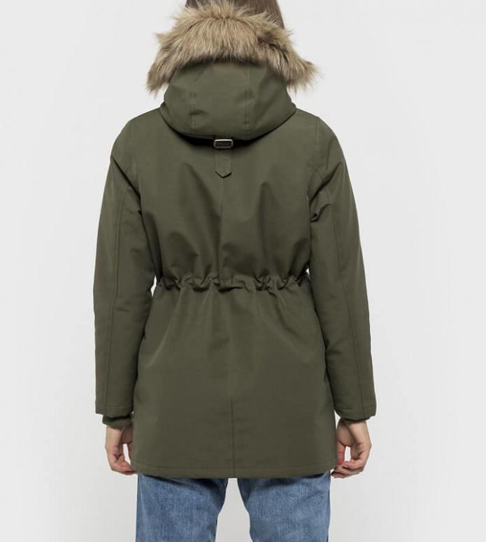 Selfhood Selfhood W Winterjacket 77093 green army