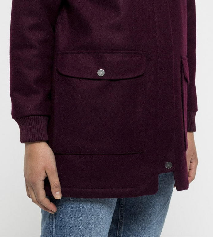 Selfhood Selfhood W Winterjacket 77108 purple