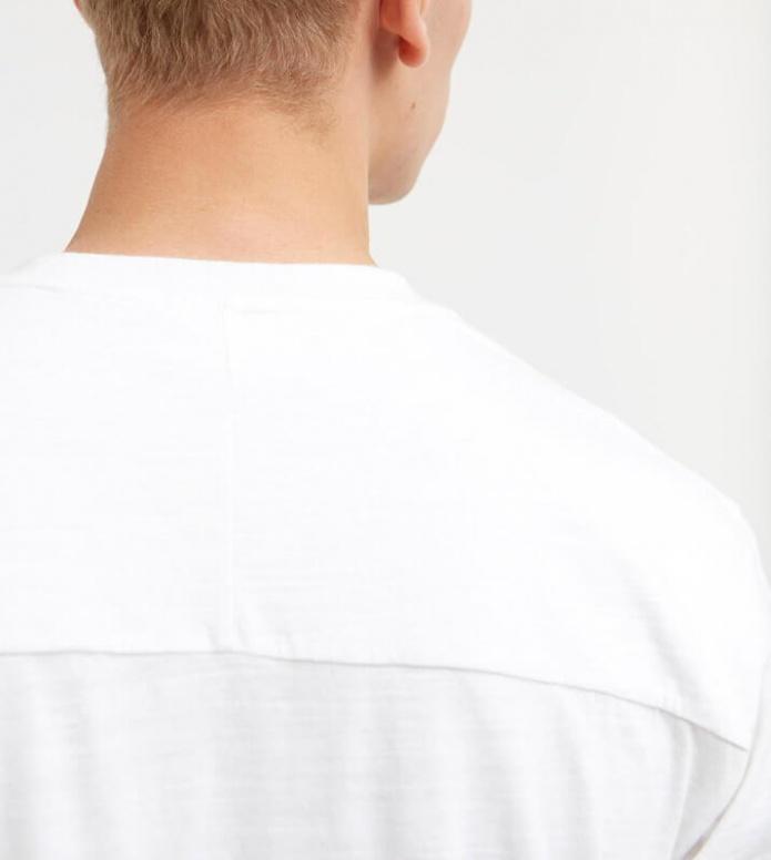 Wood Wood Wood Wood T-Shirt Perry white bright