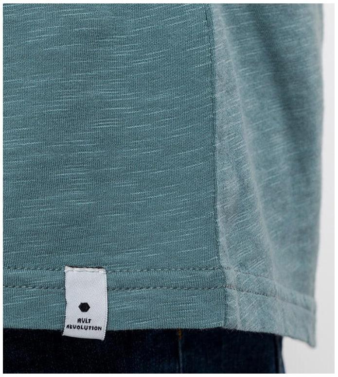 Revolution (RVLT) Revolution T-Shirt 1010 blue dust