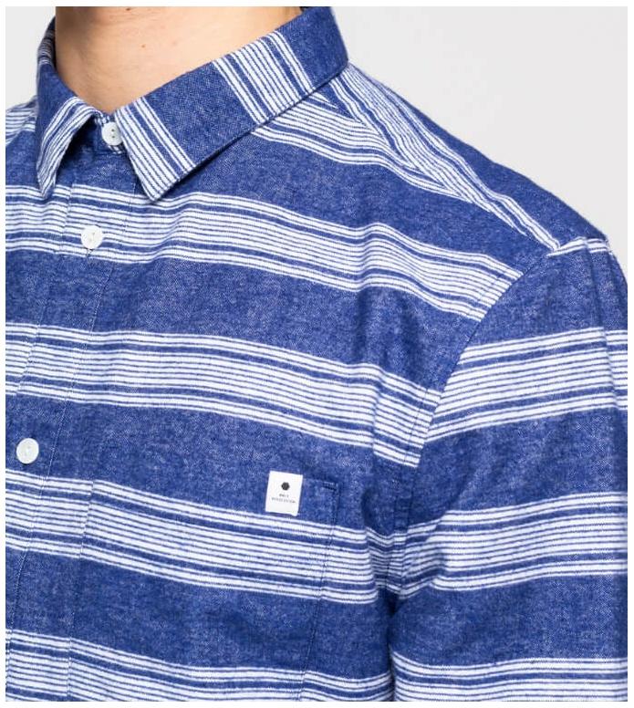 Revolution (RVLT) Revolution Shirt 3726 Striped blue navy