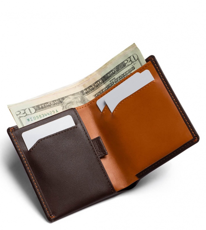 Bellroy Bellroy Wallet Note Sleeve II RFID brown java caramel