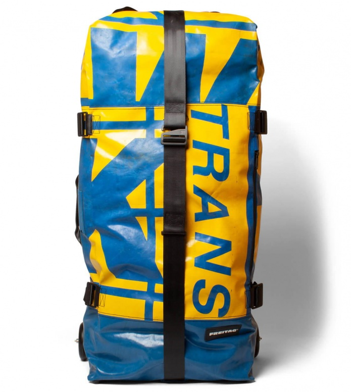 Freitag Freitag Travel Suitcase Zippelin blue/yellow