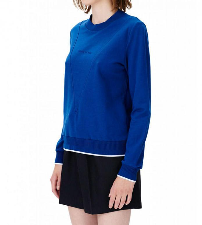 Wood Wood Wood Wood W Pullover Mary-Ann blue estate