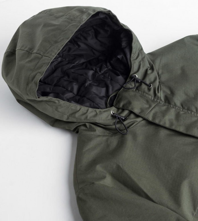 Ontour Ontour Winterjacket Wad green leaf