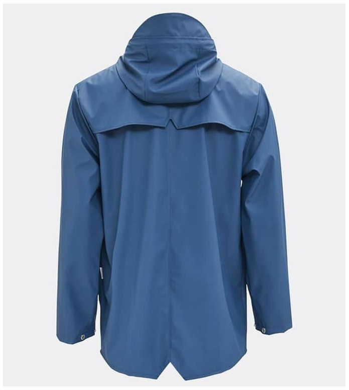 Rains Rains Rainjacket Short blue faded