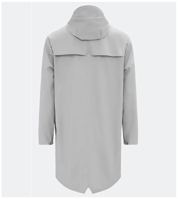 Rains Rains Rainjacket Long grey stone