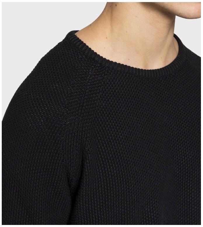 Revolution (RVLT) Revolution Knit Pullover 6261 black