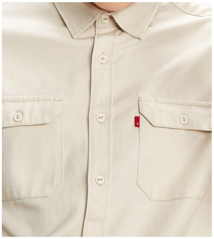 Levis Levis Shirt Jackson Worker beige fog