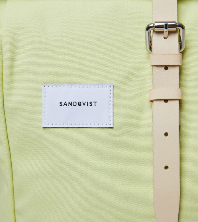 Sandqvist Sandqvist Backpack Dante yellow lemon