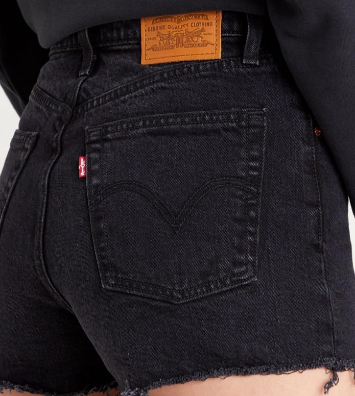 Levis Levis W Shorts Ribcage black