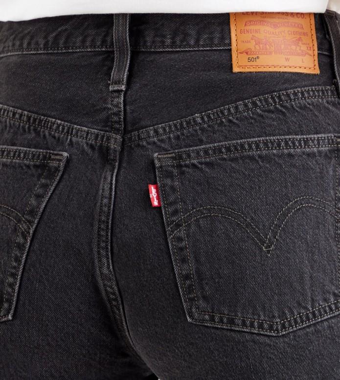Levis Levis W Shorts 501 Mid Thigh grey black lunar