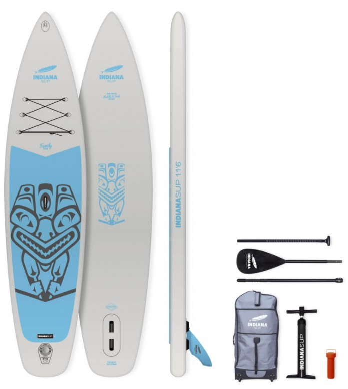 Indiana SUP Indiana SUP 11`6 Family Pack grey