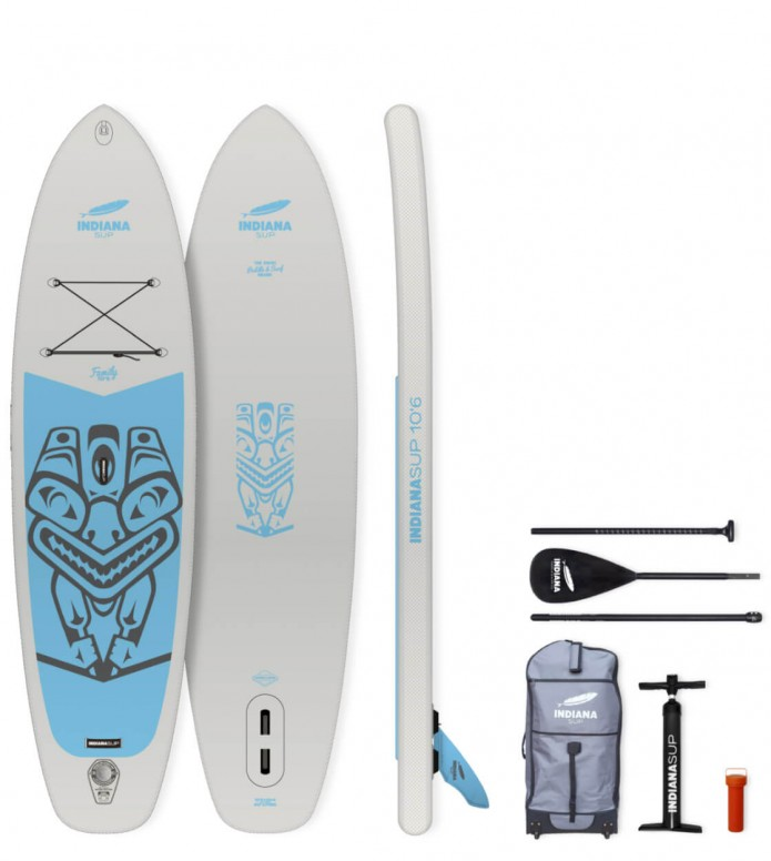 Indiana SUP Indiana SUP 10`6 Family Pack grey