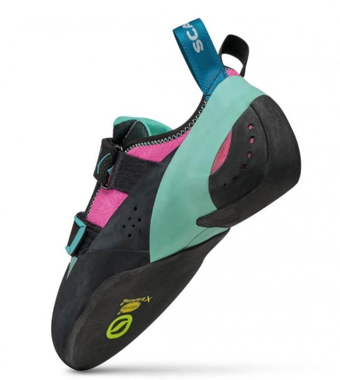 Scarpa Scarpa Climbing Shoes Vapor V WMN black/blue/pink