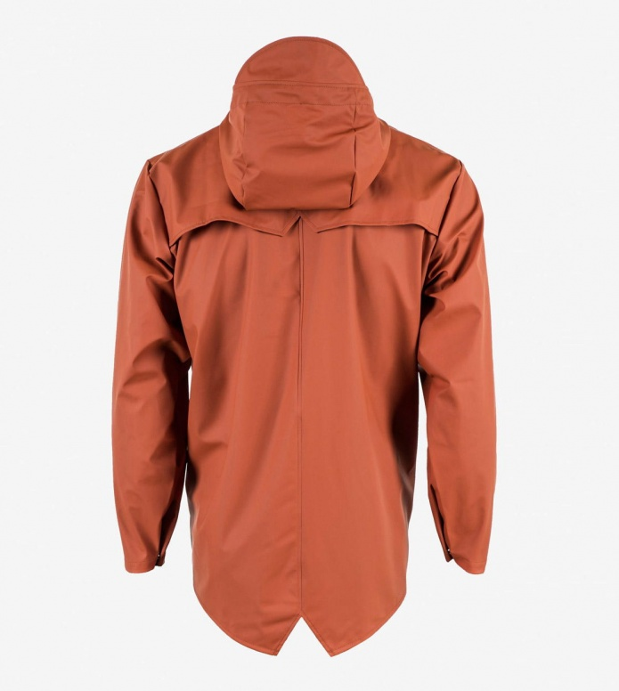 Rains Rains Rainjacket Short red rust