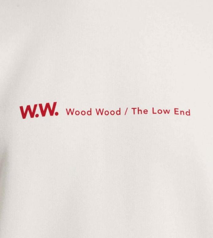 Wood Wood Wood Wood W Pullover Tara beige offwhite