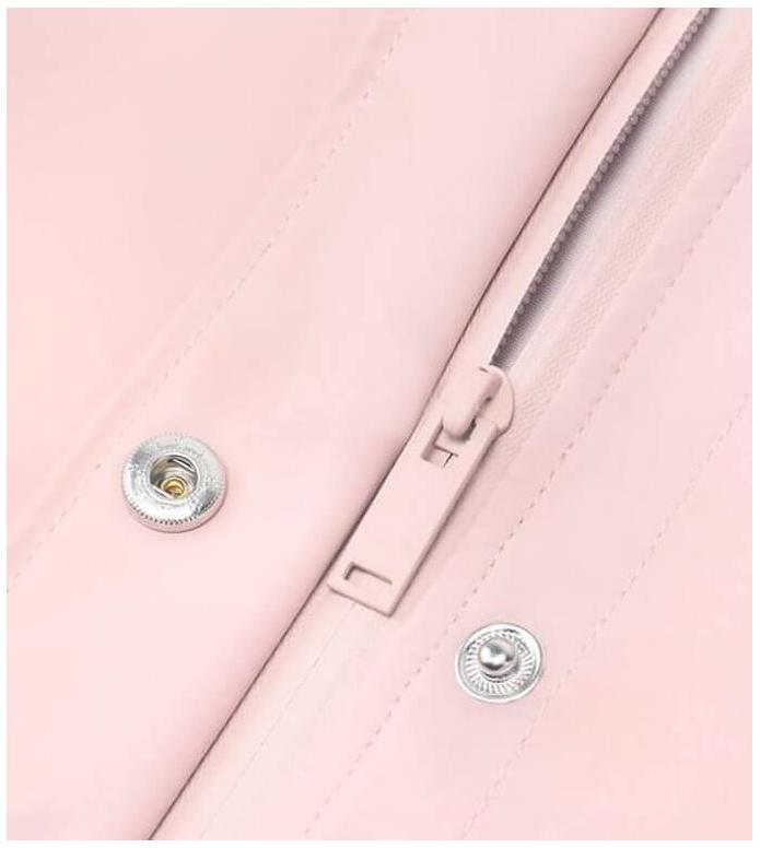 Rains Rains Rainjacket Curve pink rose