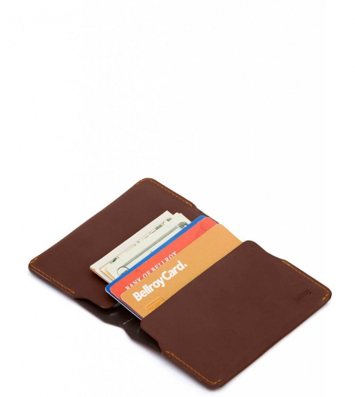 Bellroy Bellroy Card Holder brown cocoa