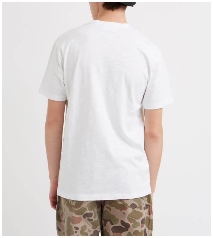 Wood Wood Wood Wood T-Shirt Slater white bright