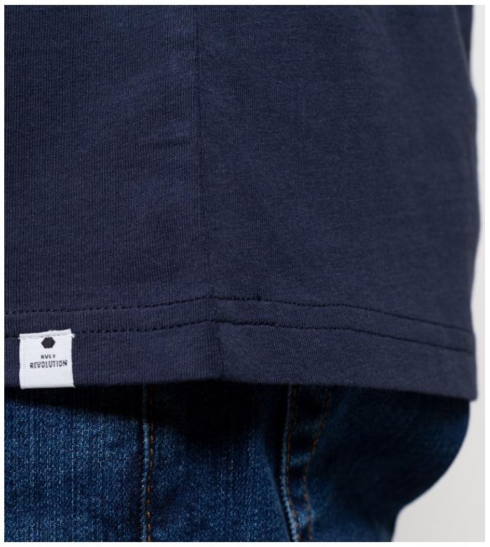 Revolution (RVLT) Revolution T-Shirt 1051 blue navy