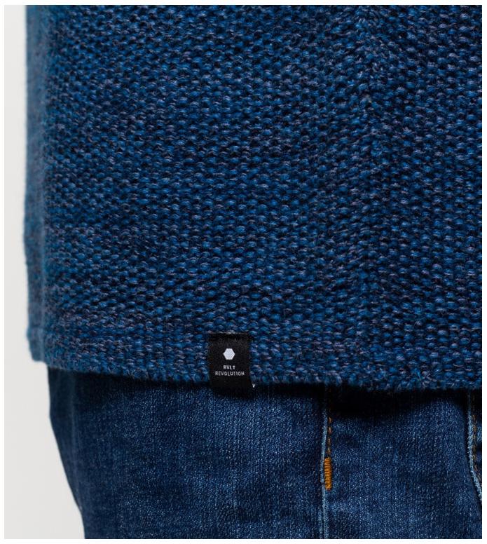 Revolution (RVLT) Revolution Knit Pullover 6009 blue