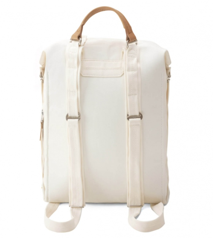 Qwstion Qwstion Backpack Zip Pack white natural