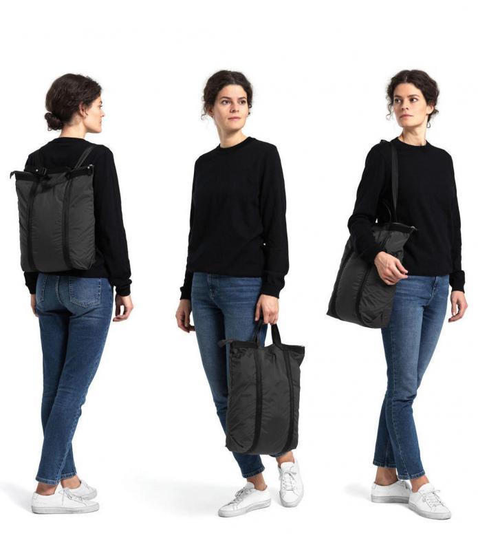 Qwstion Qwstion x Sibylle Stöckli bag travel Shopper volcano black
