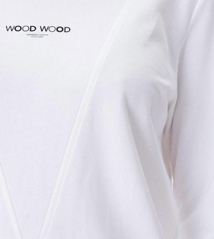 Wood Wood Wood Wood W Pullover Mary-Ann white bright