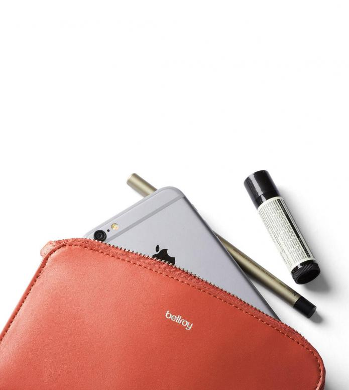 Bellroy Bellroy Wallet Pocket red tangelo
