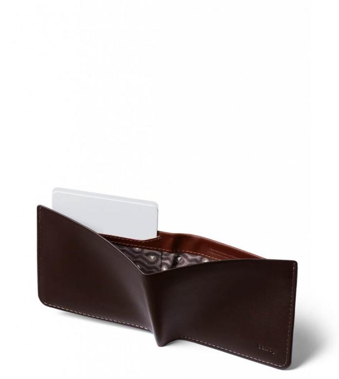 Bellroy Bellroy Wallet The Square brown java