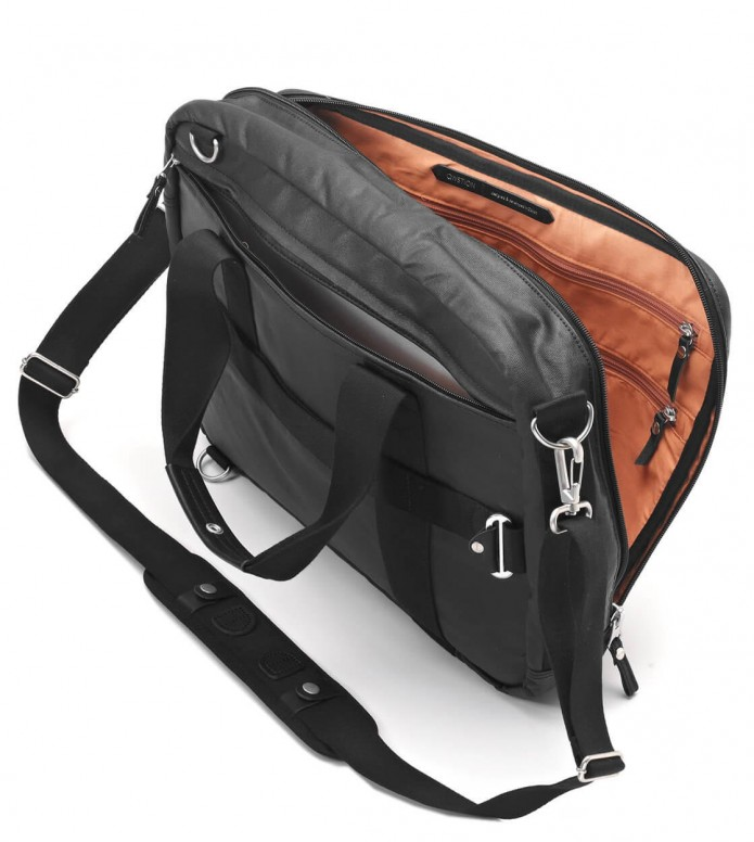 Qwstion Qwstion Bag Office organic jet black
