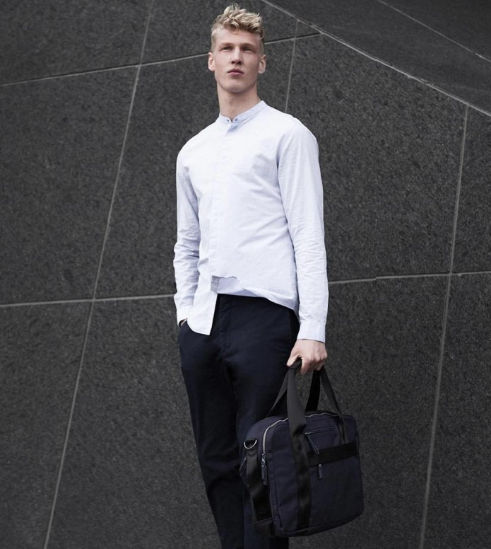 Qwstion Qwstion Bag Office organic midnight blue