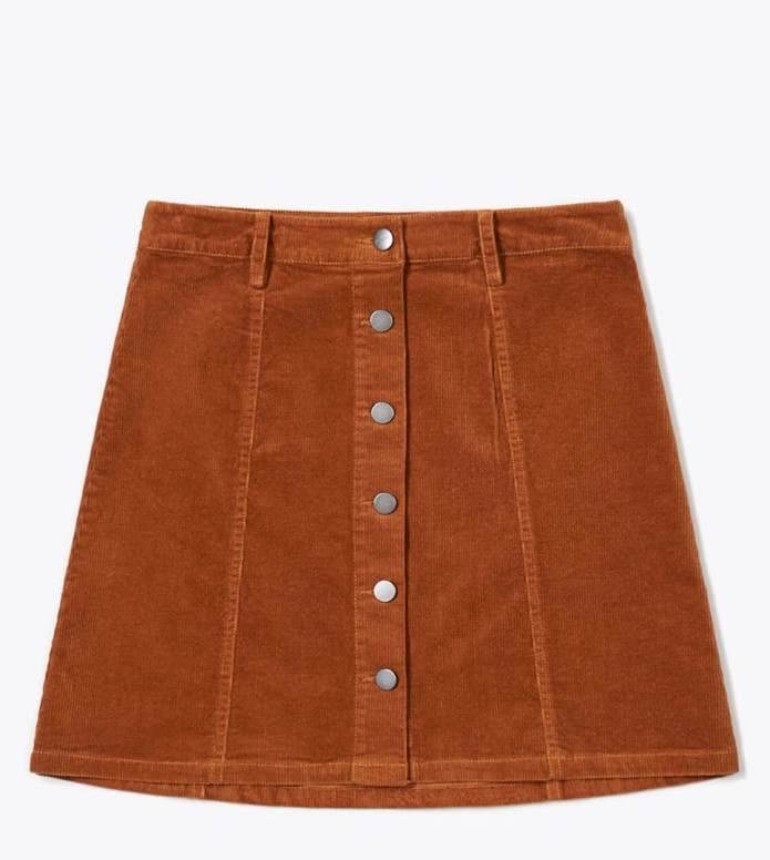 Wemoto Wemoto W Skirt Asja brown brandy
