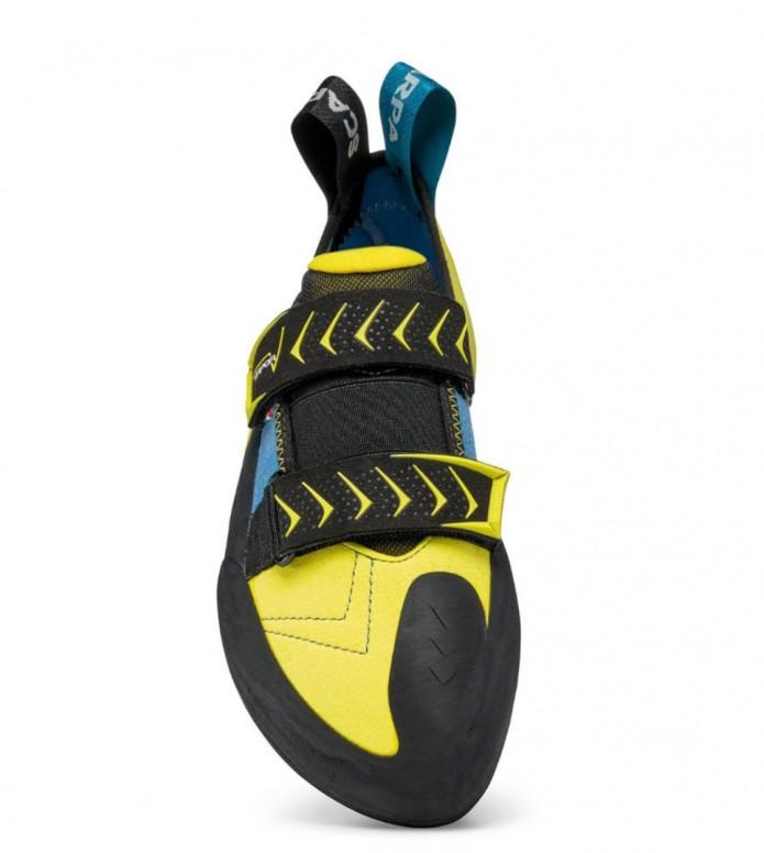 Scarpa Scarpa Climbing Shoes Vapor V black/yellow/blue